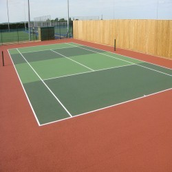 Tennis Court Surface Repainting in Aberwheeler/Aberchwiler 11