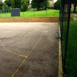 Tennis Court Surface Rejuvenation in Abergwesyn 6