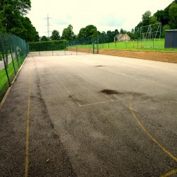 Tennis Pitch Refurbishment in Wrexham 8