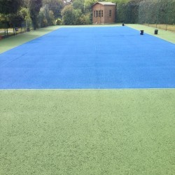 Tennis Court Resurfacing Company in Abertridwr 9