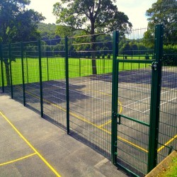 Tennis Pitch Refurbishment in Lisburn 8
