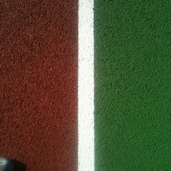 Relining Tennis Surfaces in Abram 11