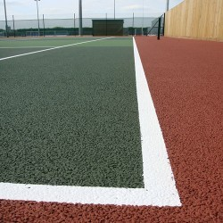 Relining Tennis Surfaces in Armagh 7
