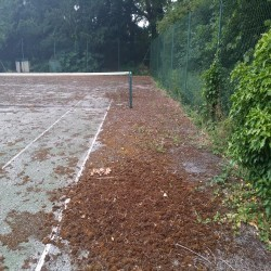 Relining Tennis Surfaces in Armagh 12