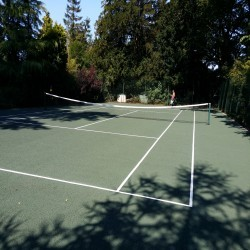 Tennis Court Resurfacing Company in Rhos Haminiog 6