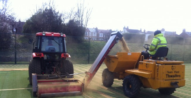 Sports Pitch Rejuvenation in Wimbledon