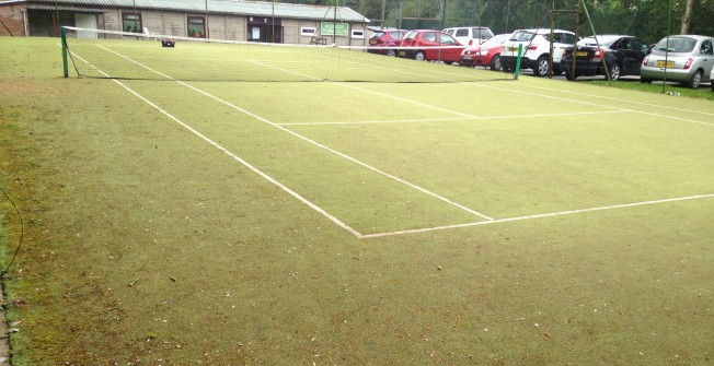 Tennis Court Contamination Testing in Carrickfergus
