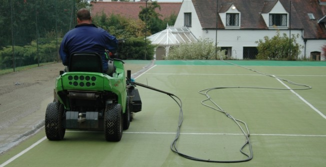 Synthetic Surface Cleaning in Abermule/Aber-miwl